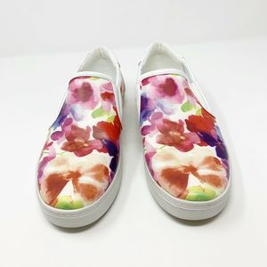 Liz Claiborne Waverly Floral Slip On Sneakers